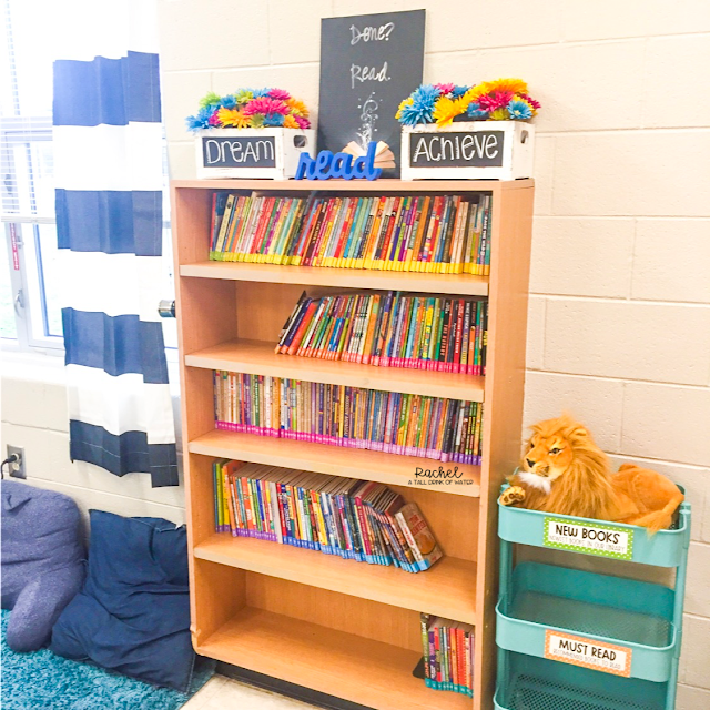 Classroom Library Set Up Bookshelves
