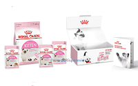 Logo Ricevi una Royal Canin Kitten box in omaggio : scopri come fare fino ad esaurimento scorte