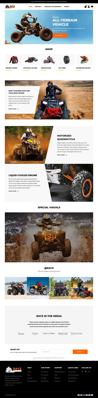 ATV Motorsports Shopify Theme