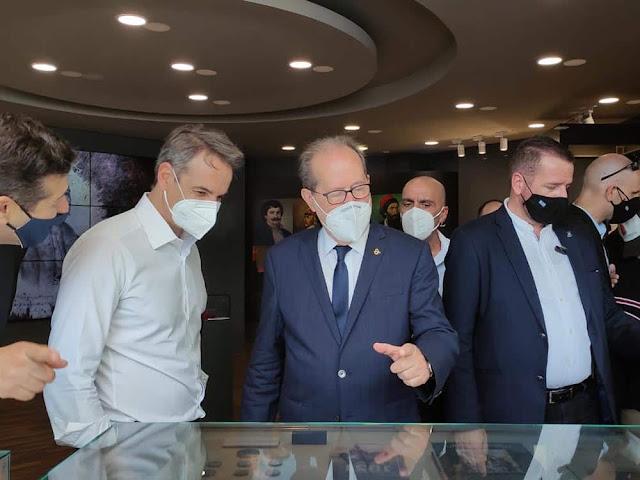 Το επετειακό περίπτερο της Περιφέρειας Πελοποννήσου στην 85η ΔΕΘ επισκέφθηκε ο Πρωθυπουργός