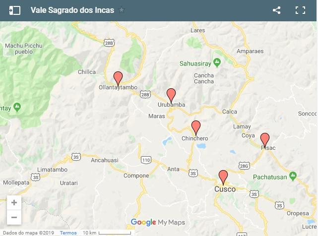Como chegar ao Vale Sagrado, Cusco