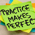 'Practice makes perfect' - but how should we practice?