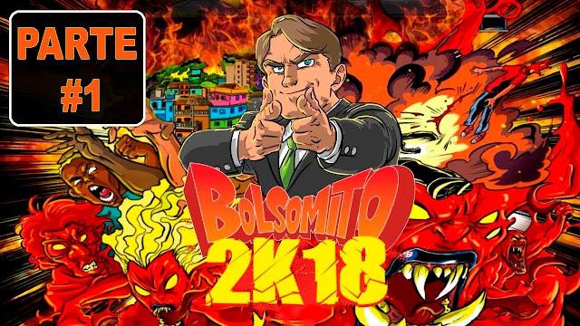 Capa do jogo Bolsomito 2K18. Divulgação