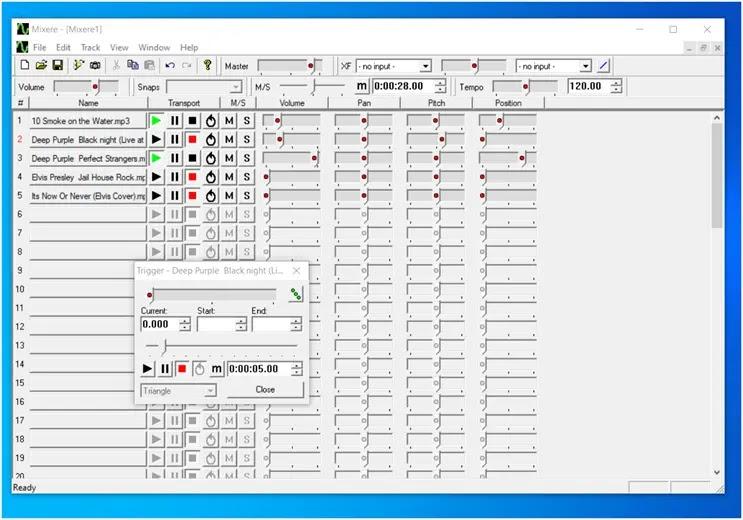 Mixere : Αυτόνομος  φορητός μίκτης ήχου για τα windows