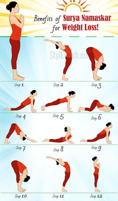yoga for weight loss  surya namaskar benefits for weight