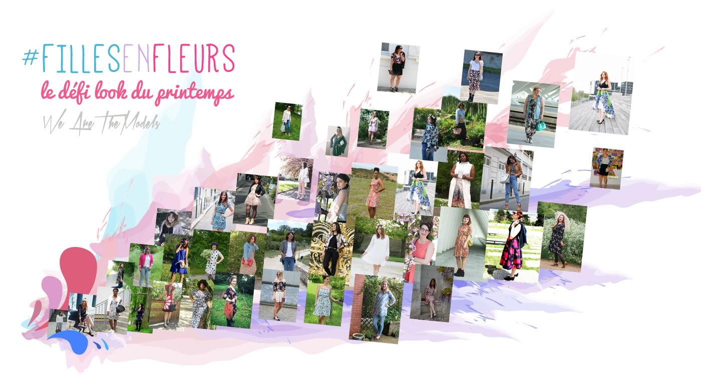 fille en fleurs we are the models