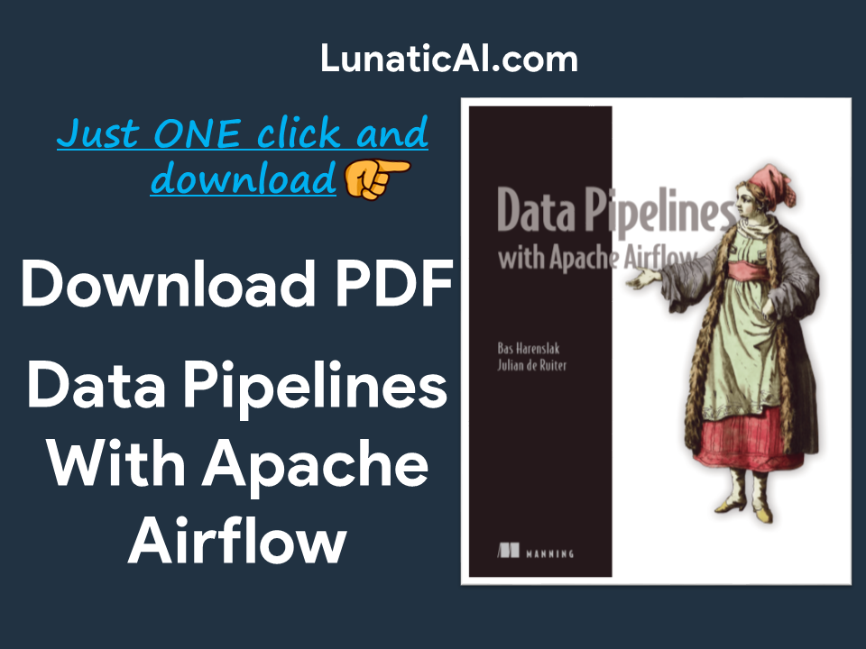 Data Pipelines with Apache Airflow PDF Free Download