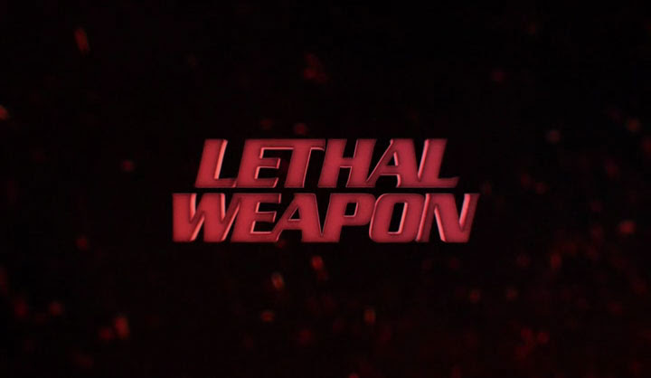 desktop wallpaper Lethal Weapon TV show logo