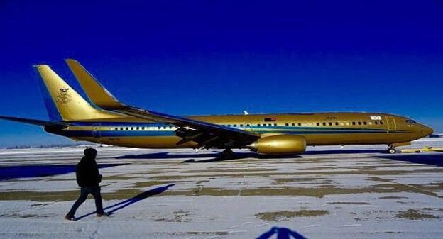 5 Gambar pesawat peribadi baru Boeing 737/800 Sultan Johor