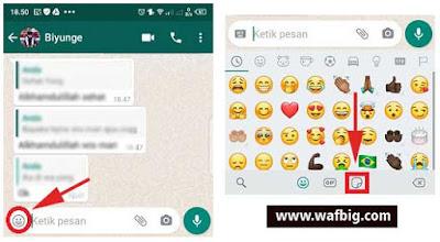 Stiker Muslimah Untuk Whatsapp, Ini Cara Mudah Mendapatkannya
