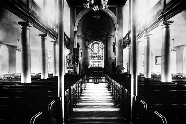Interior Of The Demolished Holy Trinity Church