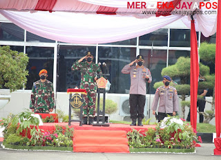 Didampingi Kapolri, Panglima TNI Buka Latsitarda Ke 41, 802 Taruna Berbagai Matra Ikut Bagian