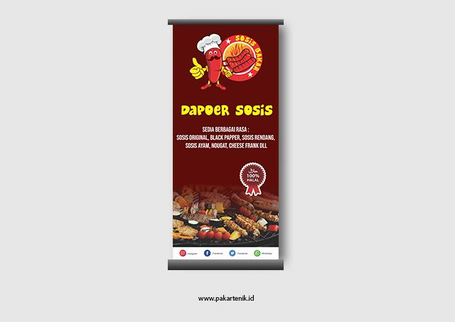 Contoh Banner Makanan Yang Keren