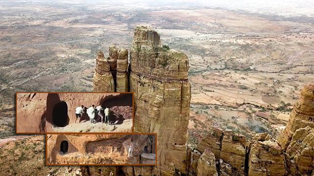 Khám phá nhà thờ Ethiopia trên núi cao