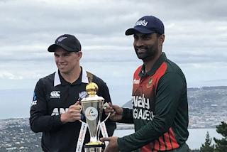 Cricket Highlightsz - New Zealand vs Bangladesh 1st ODI 2021 Highlights