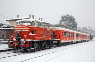 Mercatini di natale con il treno dei sapori  11/17/18 dicembre Lago d'Iseo (BS)