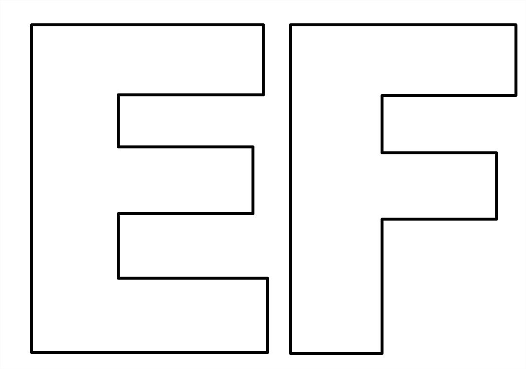 Moldes de letras grandes para imprimir aprender e brincar for Moldes para pavimentos de hormigon
