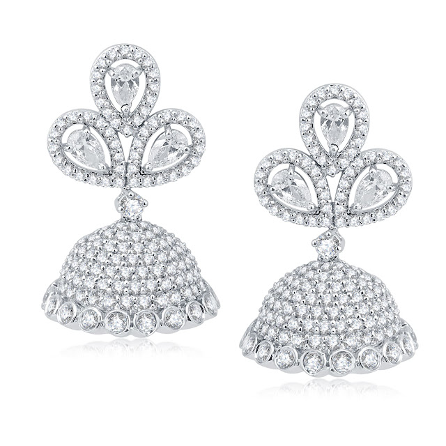 Adawna, a contemporary silver jewellery brand presents its latest collection of Jhumkis for urban fashionistas