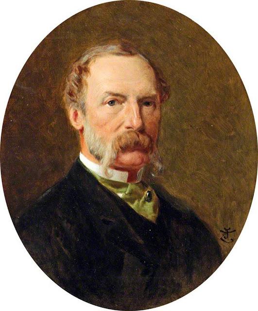 John Tenniel, Self Portrait, Portraits of Painters, Fine arts, Portraits of painters blog, Paintings of John Tenniel, Painter John Tenniel
