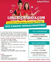 Walk In Interview di PT. Smartfren Telecom Tbk Surabaya Terbaru Juli 2019