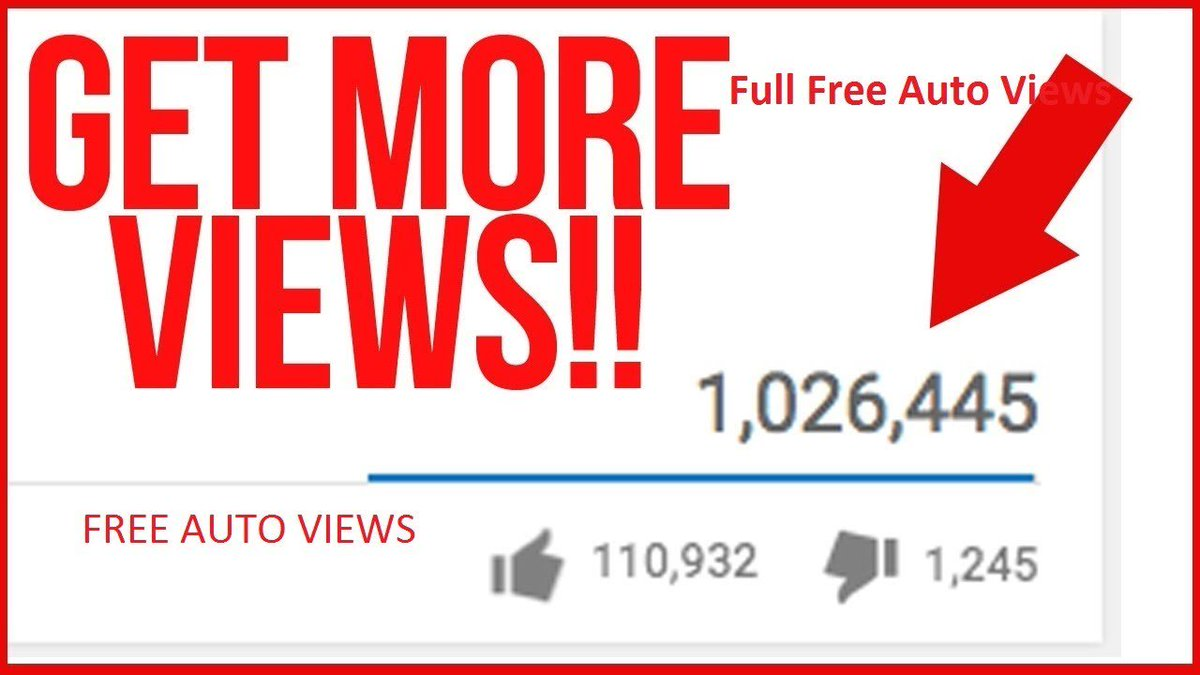 Get Youtube Views For Free! Tested [November 2020]