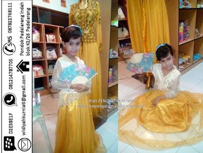 Sewa baju kebaya adat anak untuk Kartinian