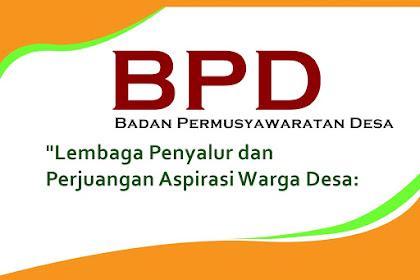 Contoh Surat Lamaran Calon Anggota BPD