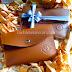 Caramel Brown Pouch Bag