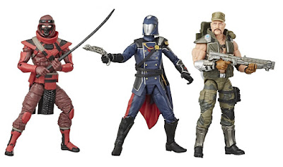 G.I. Joe Classified Series 2 Action Figures by Hasbro – Cobra Commander, Gung Ho & Red Ninja
