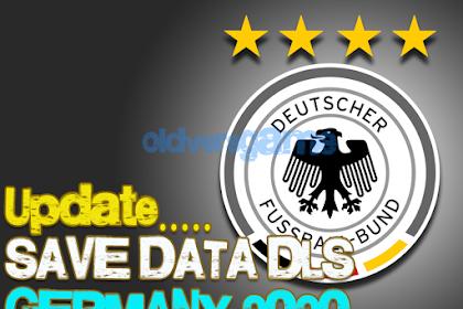 Update Save Data Dream League Soccer Germany National Team Season 2020-2021