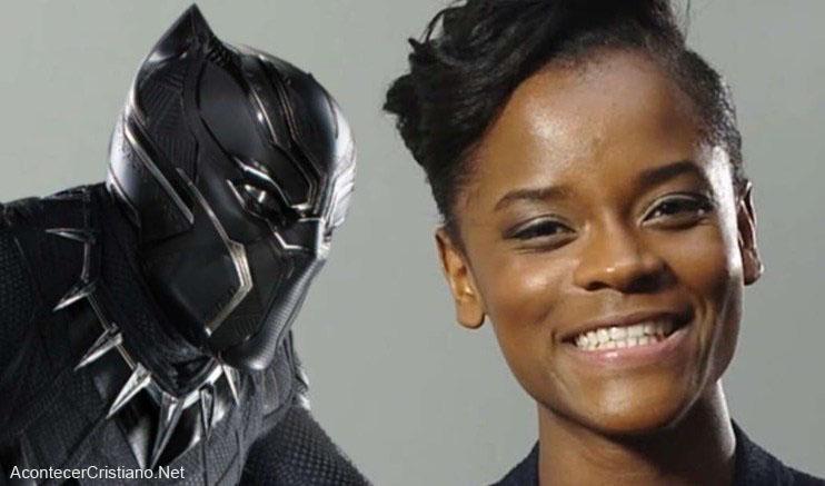 Actriz de Pantera Negra, Letitia Wright
