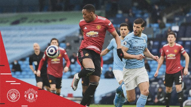 Manchester City vs Manchester United 0-2 Highlights