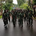 Minggu Militer Personel Makodiklatau Gelar Long March