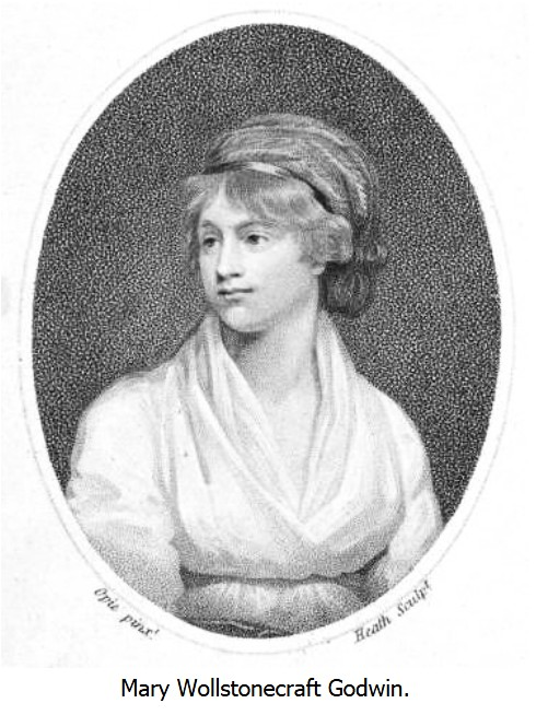 mary wollstonecraft and her response to Mary wollstonecraft, her friend fanny blood, and her sisters eliza and everina, established a school in 1784, but the project encountered serious financial difficulties, and subsequently collapsed mary wollstonecraft met the moral and political thinker, the reverend richard price, and that was an important moment in her life.