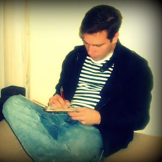 escribiendo