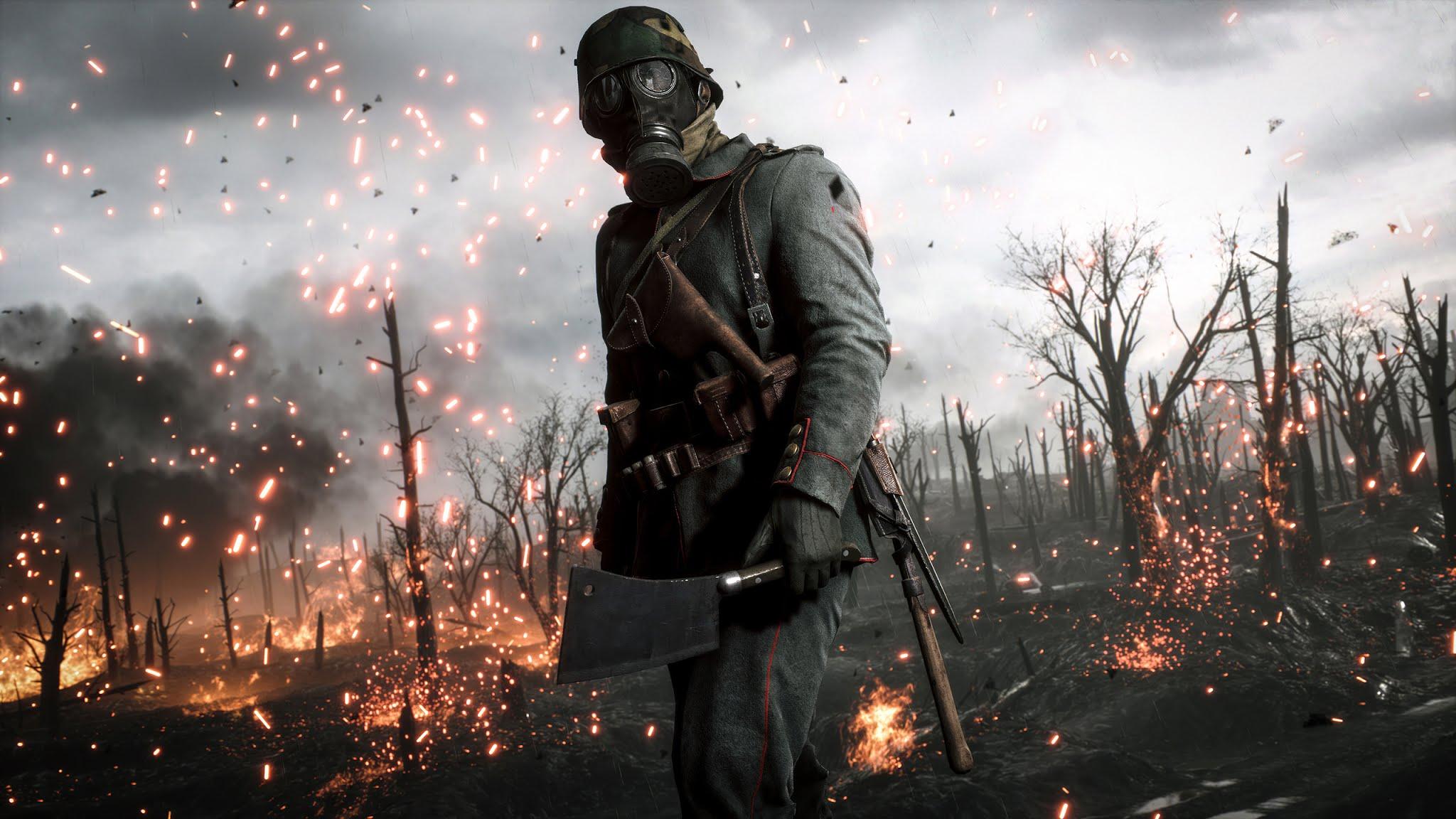 Battlefield 1 Video Game Wallpaper