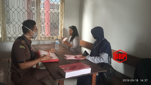 Rekanan Kades Bereng Jun Ditahan Jaksa