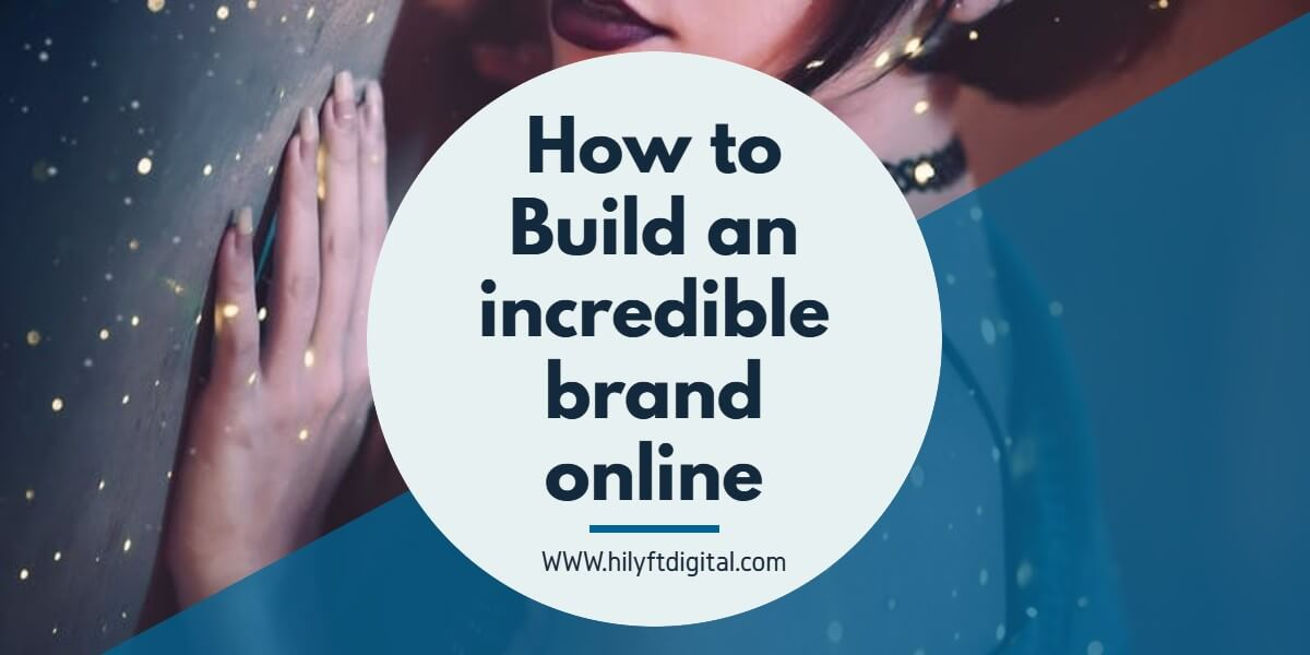 How to build an online brand