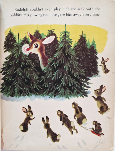 image of vintage illustrated children's book artwork