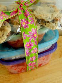 fun food care package for new moms (sweetandsavoryfood.com)