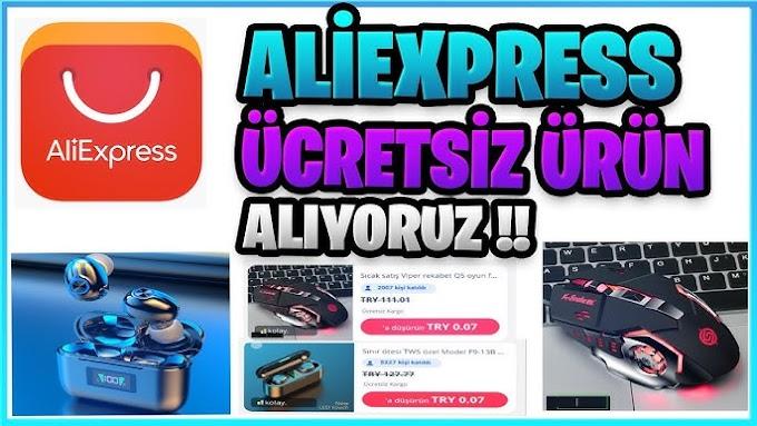 AliExpress Ücretsiz Ürün Alma Yöntemi! Kes Onu