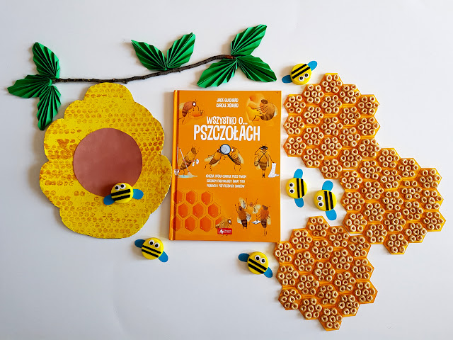 Wszystko o pszczołach -Wszystko o niedźwiedziach - Wydawnictwo Dragon Dla Dzieci - Guichard Jack, Xenard Carole, Francois Moutou-książeczki dla dzieci - Dzień Pszczoły - Dzień Misia - prace plastyczne - zabawy sensoryczne