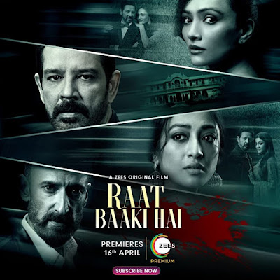 Raat Baaki Hai (2021) Hindi 720p HDRip ESub x265 460Mb HEVC