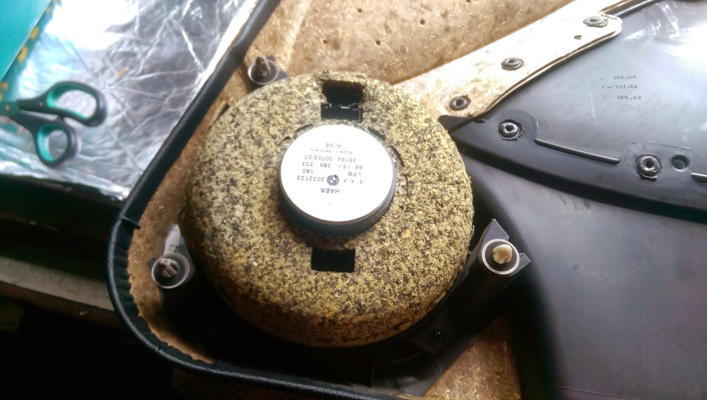 hight resolution of bmw e46 front speaker