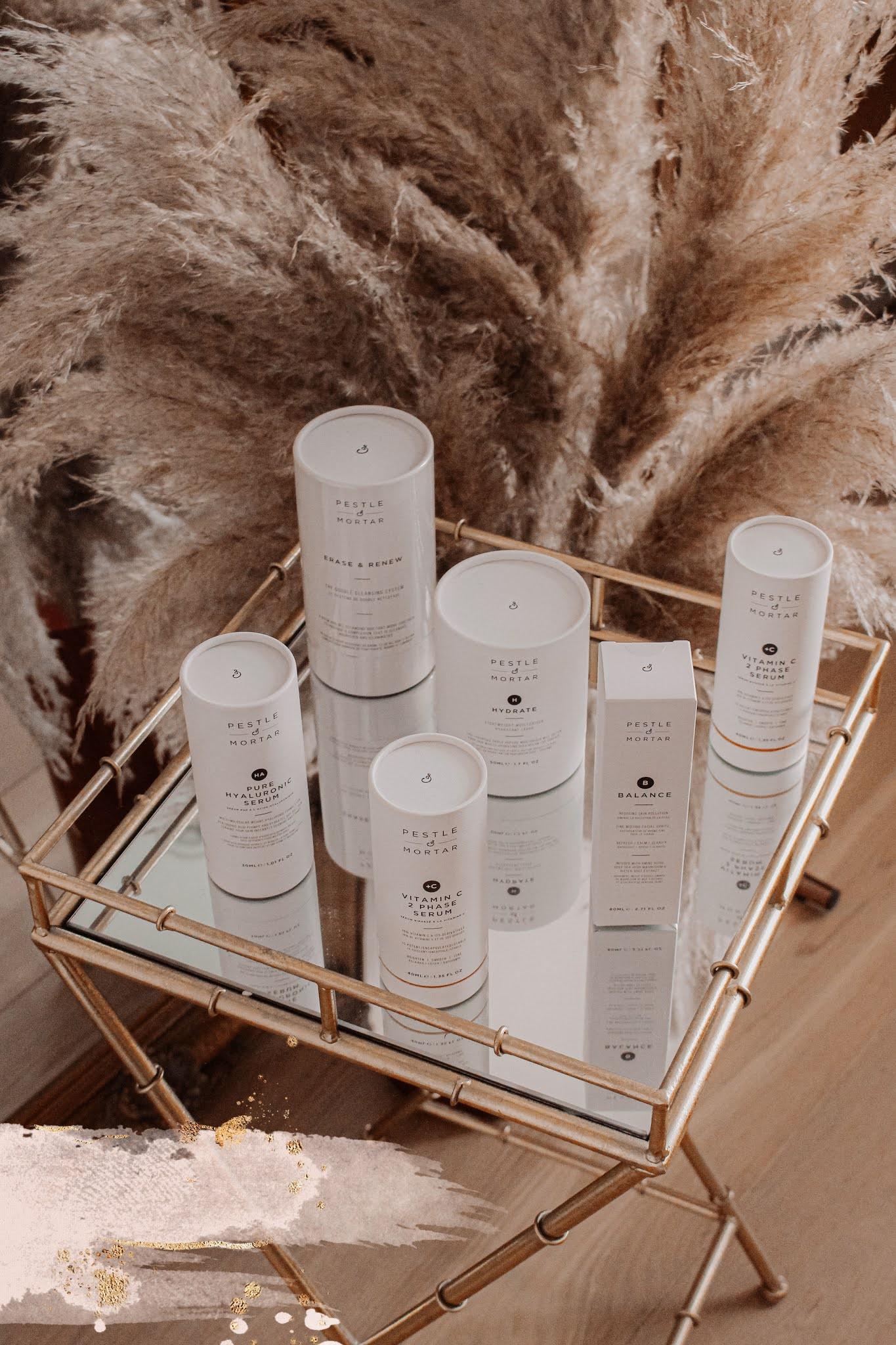 Pestle & Mortar skincare essentials blog review