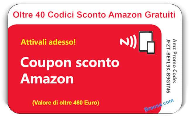 Codici Sconto Amazon 2018