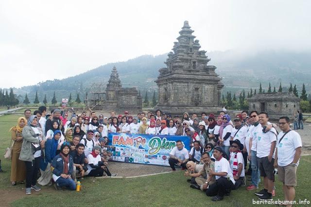 Geowisata Karangsambung Mendapat Perhatian dalam Famtrip 2018 di Dieng