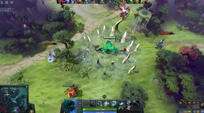 Jalannya Permainan Game Online DotA 2 di PC