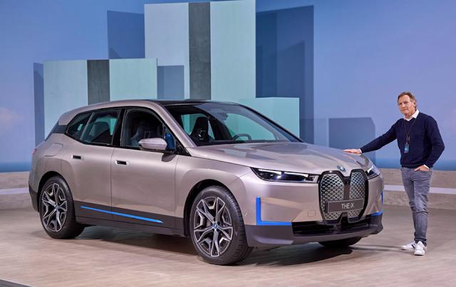BMW iX is brand's new 500bhp electric flagship