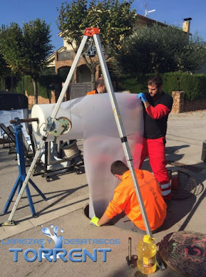 reparación tuberías sin obra torrent